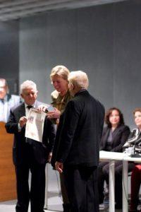 VIII Florence Biennale, Receving Award, IT, 2011