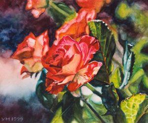 Happy birthday II (1999), watercolour 18,5 x 22,5 cm - Sold