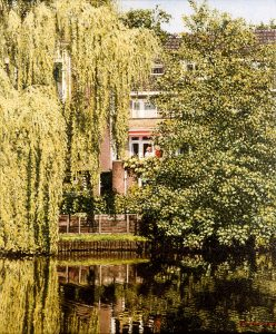 Huize Middelburg/Zwolle (2001, by commission) - oil on linen - 72 x 60 cm - Sold
