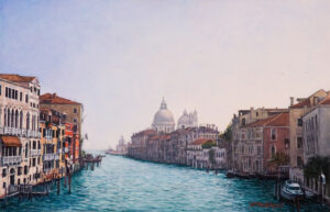 La Sereníssima, acrylic on panel 20 x 30 cm (2004) - Sold